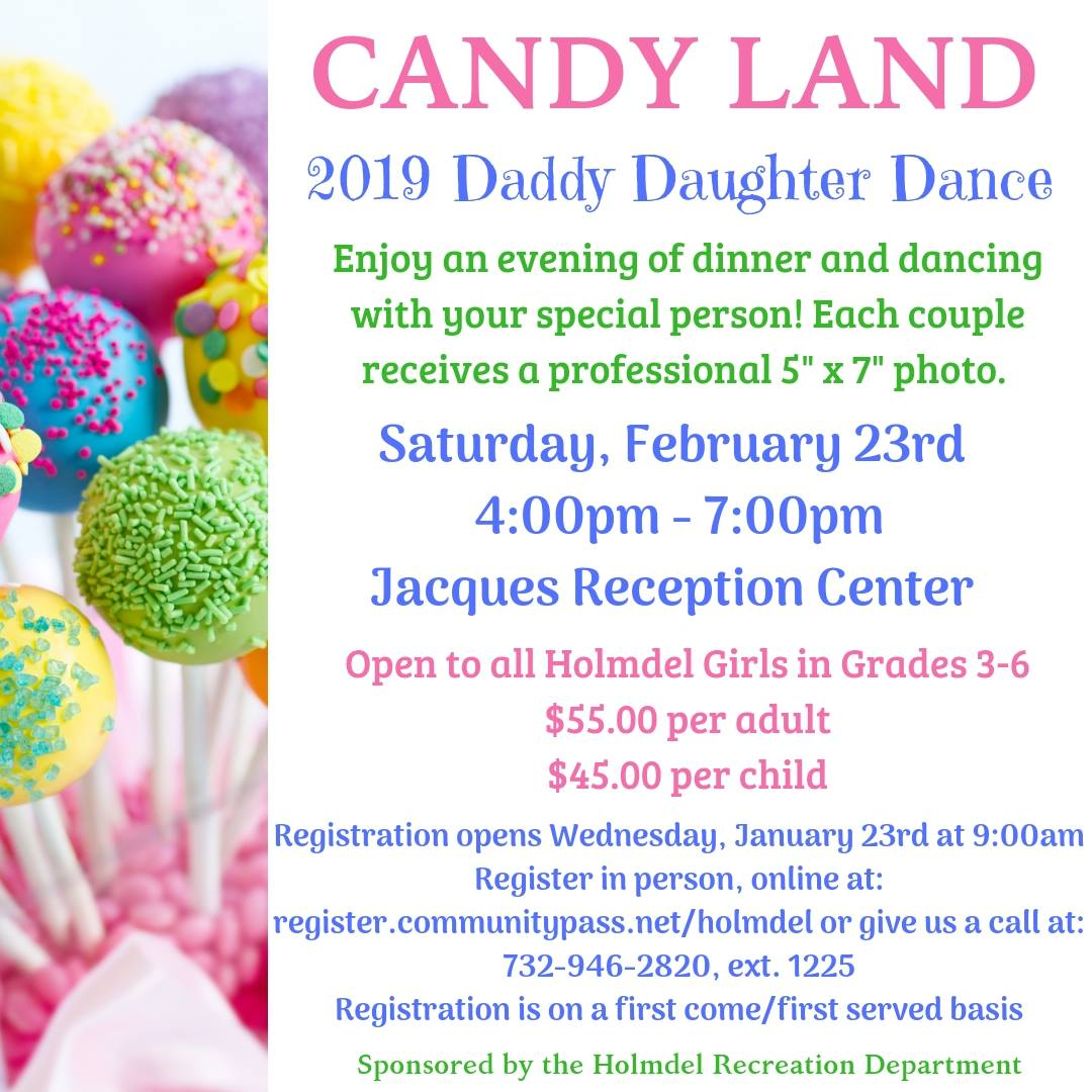 Candy Land Daddy Daughter Dance Info-graphic