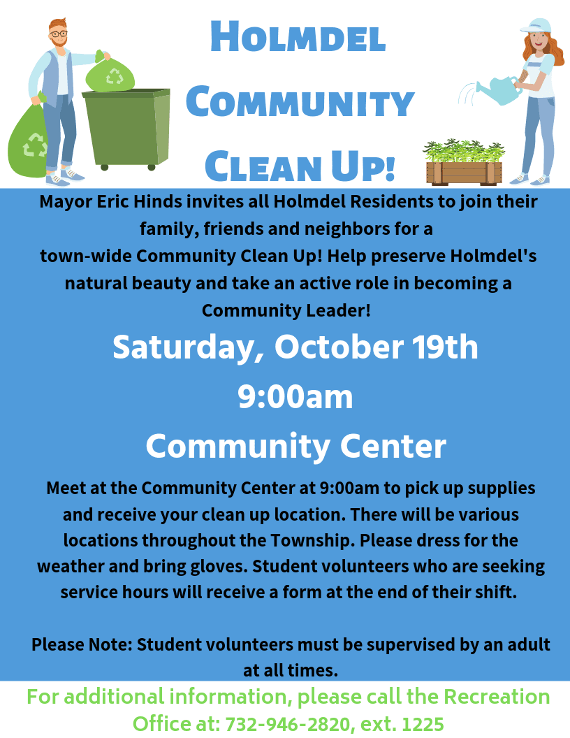 Community Clean Up-Fall 2019